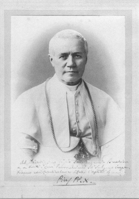 Cartolina cinquantenario canonizzazione (2004)