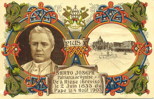 Cartolina francese - Giuseppe Sarto Patriarca di Venezia