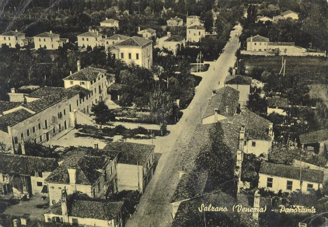 Veduta di via Roma dal campanile