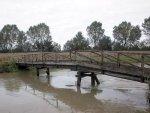 """""""Ponte degli Armati"""" sul Muson. L'origine del nome della simpatica e antica struttura in legno non è mai stata chiarita."""