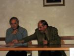 Il prof. Quirino Bortolato e il prof. Giampaolo Romanato