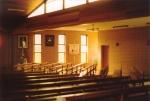 """Interno della Chiesa Cattolica """"San Pio X"""" di Dernancourt, Adelaide, Sud AustraliaInside the Catholic Church """"Saint Pius X"""" in Dernancourt, Adelaide, South Australia"""
