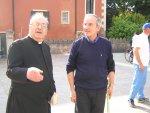 Il parroco di Salzano dà il benvenuto al parroco di Tombolo