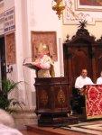 Il Patriarca recita il Vangelo
