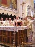 La liturgia prosegue