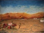 sfondo deserto vista diretta (riflesso sugli specchi)