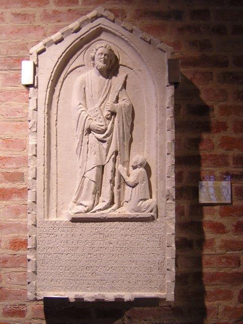 Un bassorilievo del XIV secolo
