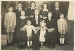 Graziella Masiero con le famiglie Masiero-Centenaro emigrate in Brasile