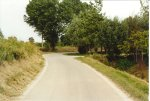 Via Toscanigo che costeggia il fiume Marzenego (a sinistra si vede l'argine sud).