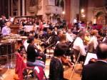 Alcuni dei componenti dell'orchestra
