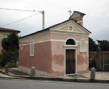 Chiesetta di Ca' Bozza. In essa celebrava spesso la messa Don Giuseppe Sarto.