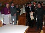 Il dott. Angelo Rigo (della ditta Disma), autore della catalogazione dell'archivio storico parrocchiale, illustra le modalità con cui è stato compiuto il lavoro