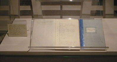 Il manoscritto del catechismo di don Giuseppe Sarto, conservato nel museo